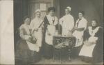 Kitchen staff withmaids