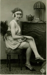 1920s Risqué FrenchMaid