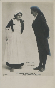 """Gertrude Elliott as """"Peggy"""" in """"Mice and Men"""" 1902 (F.H.L 1622)"""