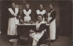 Kitchen maids, c1900's Germanorigin