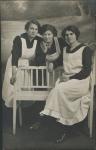 Three young maids, Germanorigin
