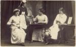 Edwardian Ladies served afternoontea