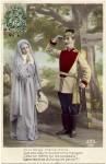 French PATRIOTIC NUN vs Alsace Germanoccupation