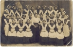 Group of maids c1910