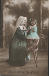 Nun and childc1910