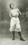 Corset and bloomers
