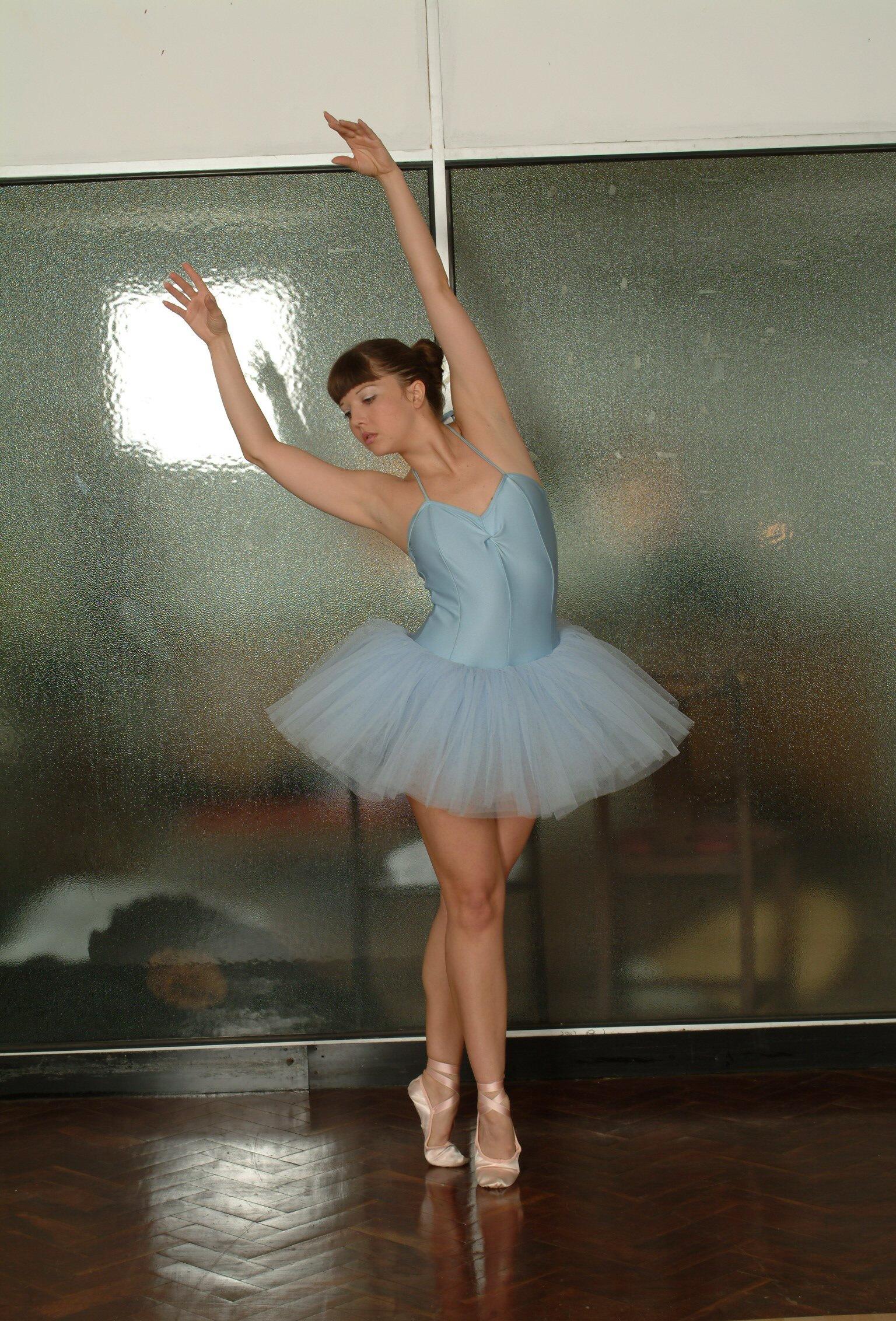 ballerina spanking