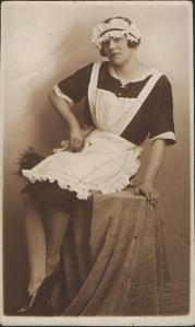 1920's maid