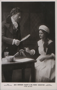 "Gertrude Elliott as ""Peggy"" in ""Mice and Men"" 1902 (J. Beagles 362)"