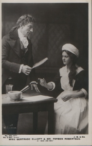 "Gertrude Elliott as ""Peggy"" in ""Mice and Men"" 1902 (J. Beagles G 362)"