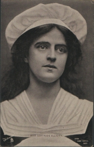 "Gertrude Elliott as ""Peggy"" in ""Mice and Men"" 1902 (Tuck 6576)"