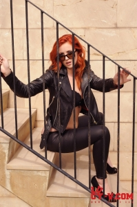 Lucy V - Leathers