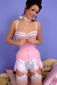 Bryoni Kate - Pink Corset