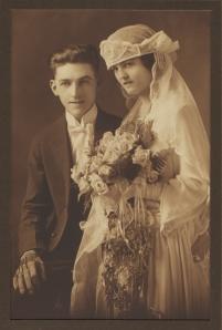 Wedding Couple - 1920's