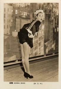 "Donna Drake as Kate Goff / Maid in ""So this is New York"" 1948"