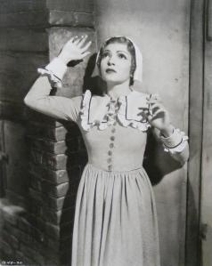 "Claudette Colbert as ""Barbara Clarke "" in ""Maid of Salem"" 1937"
