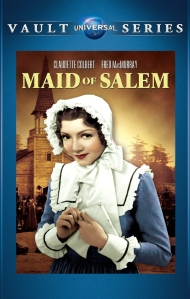 "Claudette Colbert as ""Barbara Clarke "" in ""Maid of Salem"" 1937 - DVD cover"