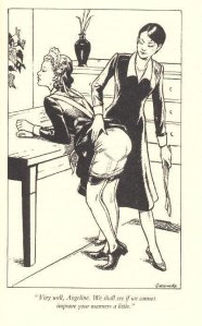 The Tawse, For Manners