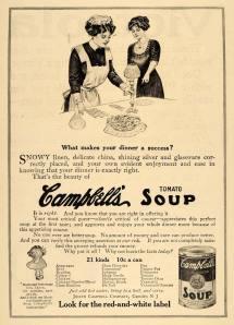 Joseph Campbell Tomato Soup Advertisement 1911