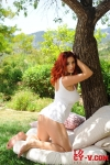 Lucy V – Enjoying the sun03