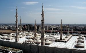 Al-Masjid an-Nabawi; Prophet's Mosque, Medina taken in 2001