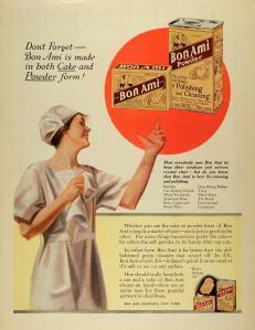 1922 Bon Ami Advertisement