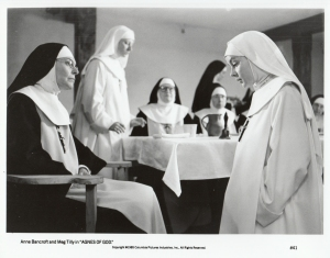 Meg Tilly as Sister Agnes 1985
