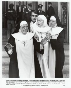 Meg Tilly as Sister Agnes 1985
