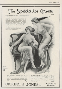 The Specialite Corset - The Tatler - September 1913