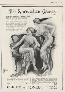 The Specialite Corset - The Tatler - September 1913