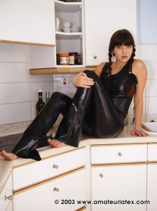 Rosaleen Young - Black Latex