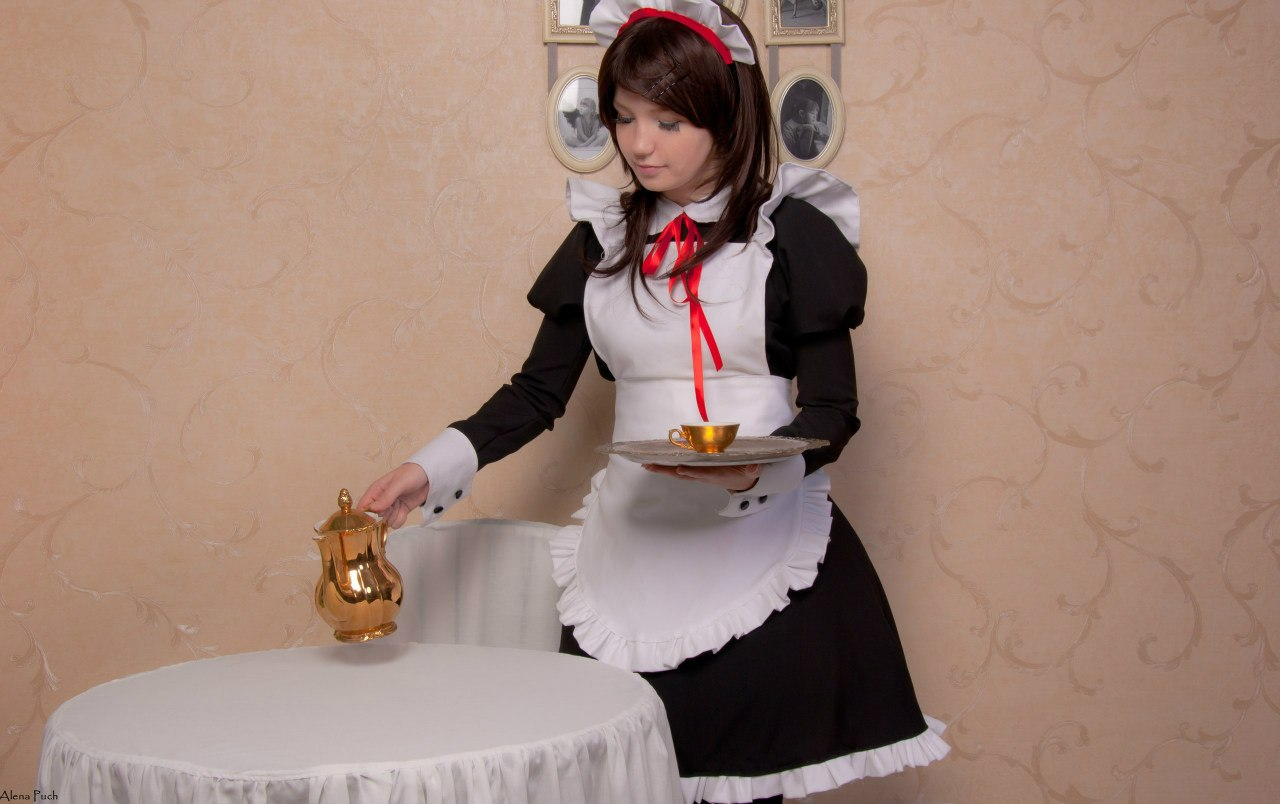 Are Sexy japanese maid cosplay sex are still