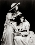 Lillian and Dorothy Gish by Alfred Cheney Johnston c.1920