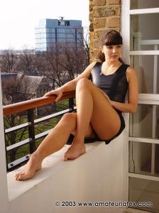 Rosaleen Young – Black Latex