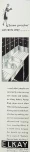 Elkay Pantry Sinks - 1930