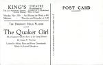 Barribal Advertising Postcard The QuakerGirl