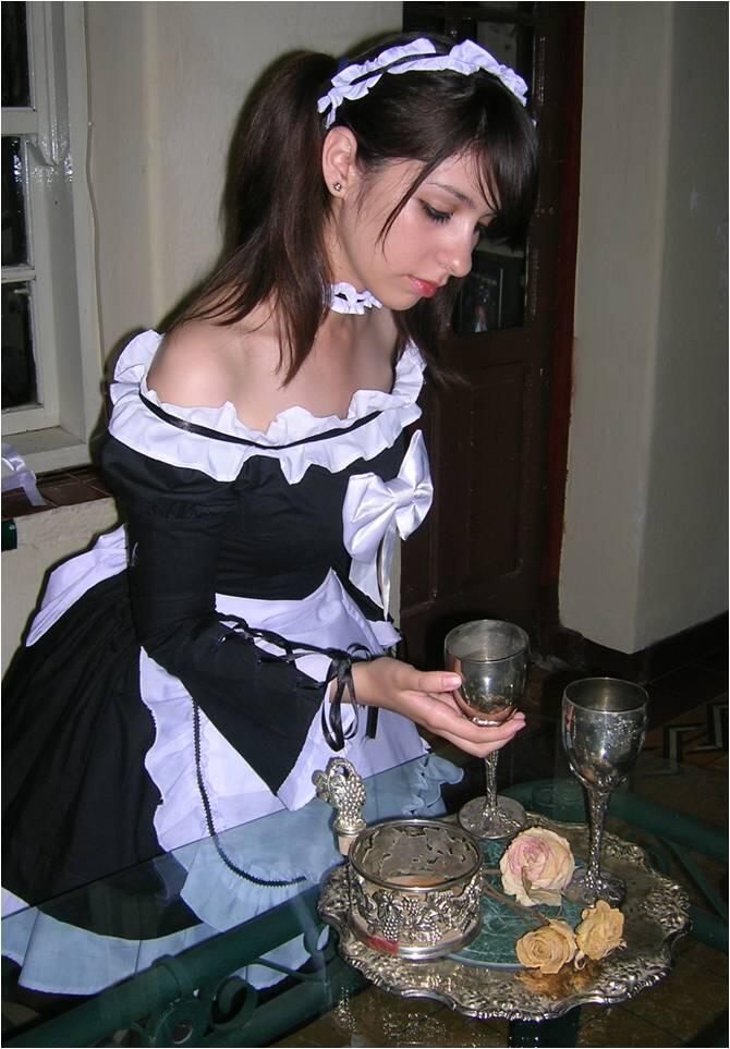 French porn naughty maid
