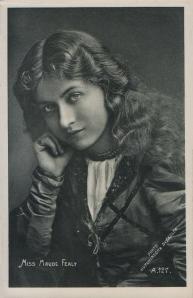 Maude Fealy (Enamelette A 127) 1906