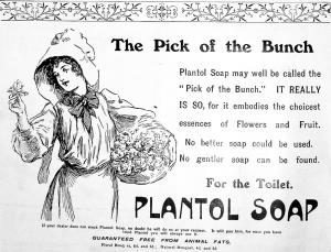 Plantol Soap - The Graphic - 4th April 1908