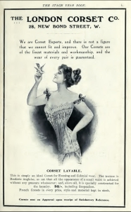 The London Corset Co. - The Stage Year Book - 1911