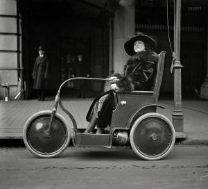 "A Washington Post news item identifies this as a Custer ""Cootie Car."" 1922"