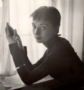 Audrey Hepburn by Cecil Beaton c 1954