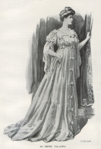 An Empire Tea-Gown - The Sketch - 17th January 1906