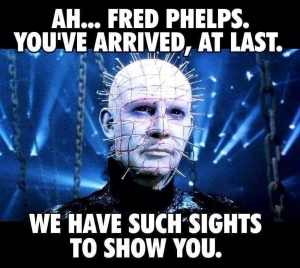 Fred Phelps - Welcome to Hell