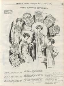 Harrods Nightdress Advert - 1912