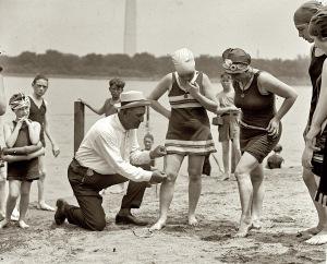 Beach Policeman - 1922