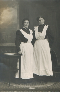 Two German Maids c1900