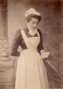 Maid / Nursery Nurse Cabinet photo c1900 a