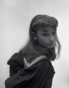 Audrey in a publicity shot for 'Gigi' (1952).