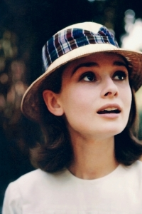 Audrey Hepburn photographed by Leo Fuchs during the filming of The Nun's Story, 1958